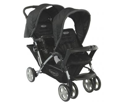 Коляска для двойни Graco Stadium Duo Sport Luxe, цвет черный (6L92SLXE)