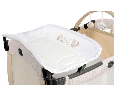Манеж Graco Contour Prestige Benny and Bell, цвет бежевый (9D82BABE)