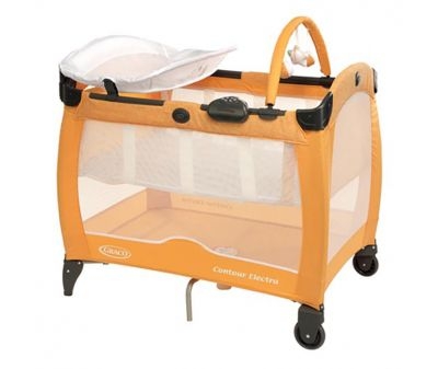 Манеж-кровать Graco Contour Electra Hide and Seek (9D78HASE)