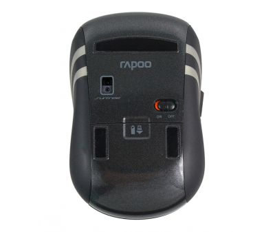 Rapoo Wireless Laser Mouse 3920p Black
